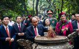 Tin trong nước - Chủ tịch nước Nguyễn Xuân Phúc dâng hương tưởng niệm các Vua Hùng