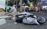 Tin trong nước - Nữ tài xế đạp nhầm chân ga, xe tô tô lao lên vỉa hè gây tai nạn liên hoàn