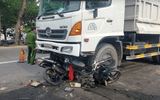 Tin trong nước - Tin tức tai nạn giao thông ngày 9/5: Xe ben lao vào công trình trên quốc lộ, 4 người thương vong
