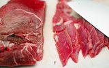Mẹo hay phân biệt thịt bò giả - thật