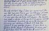 Xôn xao lá thư cha gửi con gái đuổi cháu trai đồng tính ra khỏi nhà