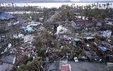 Sản phụ Philippines bất ngờ sinh con giữa siêu bão Haiyan