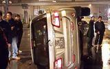 Hà Nội: Vụ tai nạn đầu tiên trên cầu Nhật Tân