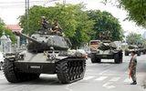 Quân đội Thái Lan đưa xe tăng vào Bangkok