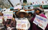 Đến lượt nông dân Thái Lan biểu tình ở Bangkok