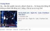 """Thảo Trang tố Vietnam Idol """"ăn cắp"""" ca khúc độc quyền"""