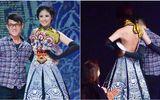 Sao Việt sợ xanh mặt vì sự cố tuột khóa váy, áo trên sân khấu