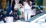 Hồ Ngọc Hà phong cách trên phố cuối tuần với xế bạc tỷ