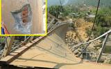 Vụ sập cầu ở Lai Châu: Tháo dỡ cầu treo Chu Va 6