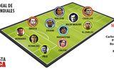 Đội hình đỉnh nhất lịch sử World Cup: Không Messi, Ronaldo