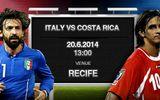 Lịch thi đấu World Cup 2014 đêm 20, rạng sáng ngày 21/6