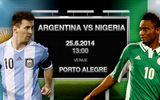World Cup 2014: Dự đoán 4 trận đấu đêm 25/6 rạng sáng 26/6