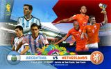 Đội hình dự kiến trận Argentina đấu với Hà Lan