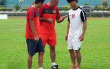 """HLV U19 Việt Nam """"chỉnh"""" Công Phượng trước trận đấu Indonesia"""