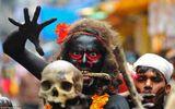 Hình ảnh ấn tượng tại lễ hội Maha Shivratri của người Hindu