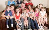 Kinh ngạc bà mẹ Anh lập kỷ lục đẻ đến 17 đứa con