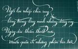 Chàng trai viết chữ đẹp như in khiến dân mạng phát cuồng