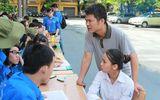 Sinh viên tình nguyện HVNH sôi động tiếp sức mùa thi 2014