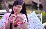 Hot girl ngộ nghĩnh xinh đẹp hơn hoa