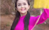 """Hot girl xứ Tuyên đẹp kiều diễm trong bộ ảnh """"Xuân Hồng"""""""