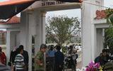Nghĩa trang liệt sĩ thành bãi gửi xe cho khách vào chợ Viềng