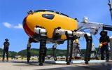 Robot đi bộ dưới đáy biển