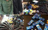 Bắt quả tang 2 đối tượng buôn bán súng và thuốc kích dục