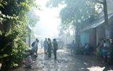TP HCM: Cháy xưởng gỗ hơn 8 giờ, nhiều tài sản thành tro