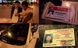"""Khung tiền phạt vụ tài xế gây tai nạn, rút thẻ Bộ Nội vụ """"dọa"""" CSGT"""