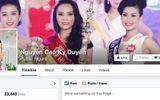 Tân hoa hậu Kỳ Duyên cảnh báo về tài khoản facebook giả mạo