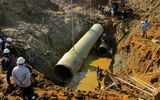 """9 lần vỡ ống nước sông Đà: Vinaconex """"bắn không nên phải đền đạn"""""""