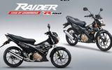 Mẫu xe Suzuki Raider R150 thêm 3 màu mới ở Việt Nam