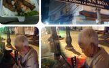 Cụ già 80 tuổi bán bún nuôi con khiến dân mạng dậy sóng