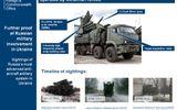 Anh công bố bằng chứng tên lửa Nga ở miền đông Ukraine