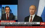 """Ông Putin bất ngờ xuất hiện trong bản tin về """"John thánh chiến"""""""
