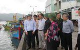 Tin bão số 4: Nghiêm cấm mọi tàu bè ở Bình Định ra khơi