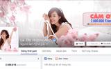 Bà Tưng vui mừng vì fanpage cán mốc 2 triệu lượt like