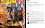 Mai Phương Thúy khoe ảnh được lên bìa sách du lịch Hồng Kông