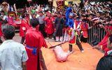 Vì sao dân làng Ném Thượng quyết chém lợn giữa sân đình?