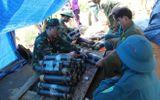 Quảng Ngãi: Kích nổ mìn đánh sập 60 hầm khai thác vàng trái phép
