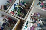 Thị trường - Bắt giữ cơ sở sản xuất mỹ phẩm giả với gần 10.000 lọ mỹ phẩm nhái ở Nghệ An