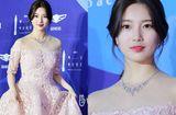 Tin tức giải trí - Vẻ đẹp nữ thần của Suzy trên thảm đỏ Baeksang 2019 được ca ngợi hết lời