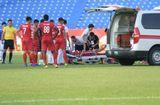 Bóng đá - Tình hình sức khỏe Thiện Đức sau pha va chạm nguy hiểm ở vòng 8 V-League 2019