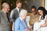 Tin thế giới - Chính thức công bố tên con trai của Hoàng tử Harry và Công nương Meghan
