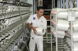 Tài chính - Doanh nghiệp - Nhà máy xơ sợi Đình Vũ tăng công suất sản xuất sợi DTY lên 900 tấn/tháng
