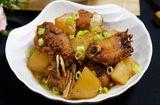 Ăn - Chơi - Cách làm sườn kho của cải ngọt mềm đưa cơm