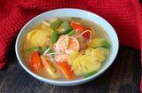 Ăn - Chơi - Canh chua tôm dứa thanh mát giải nhiệt ngày nắng