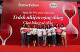 Bí quyết làm giàu - Ngày hội hiến máu nhân đạo Eurowindow huy động được 235 đơn vị máu