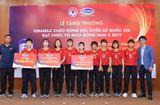 Thị trường - Vinamilk trao thưởng chúc mừng đội tuyển bóng đá nữ quốc gia vô địch Đông Nam Á 2019
