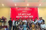 Giáo dục - Hướng nghiệp - Trường ĐH Kinh doanh và Công nghệ Hà Nội tổ chức Lễ kết nạp Đảng viên mới năm 2019